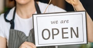 Small Businesses Are Open